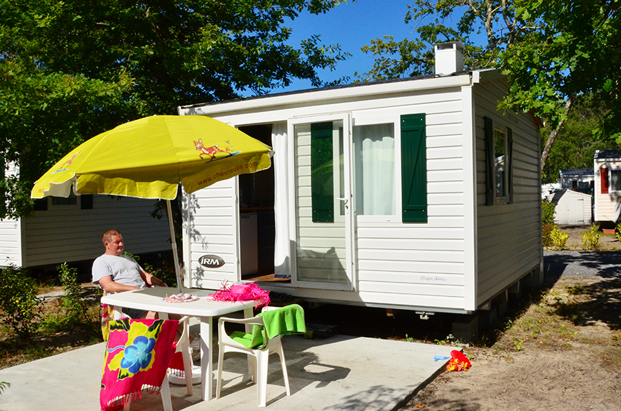 location mobil home dax