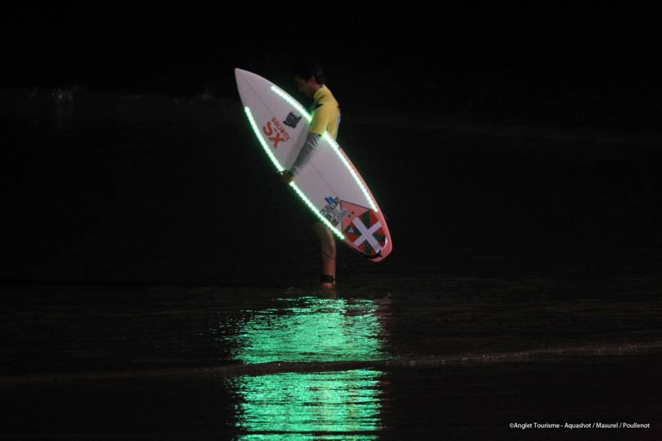 Surf de nuit led