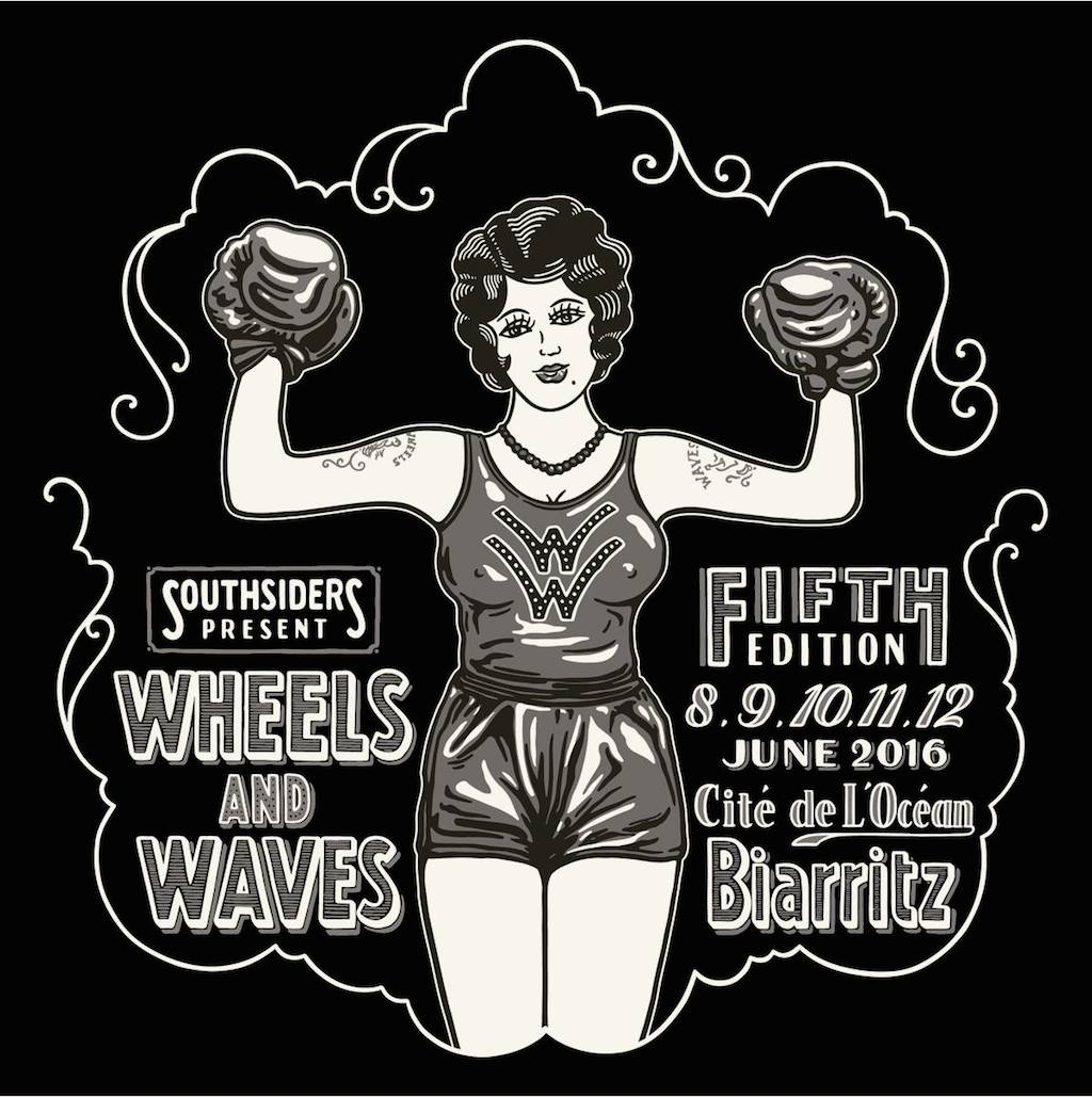 Affiche Wheels And Waves