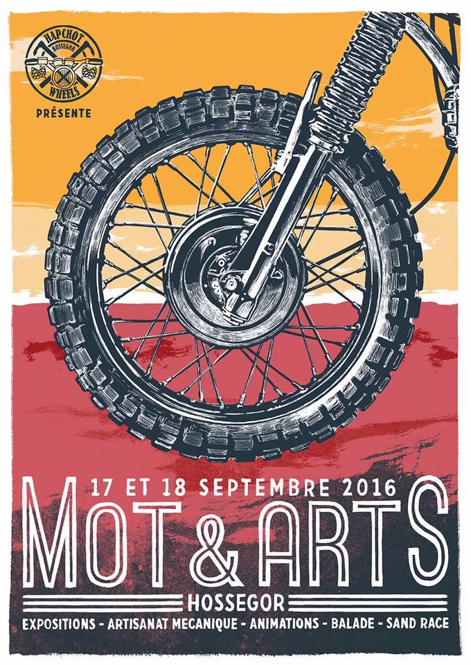 Affiche Mot & Arts 2016