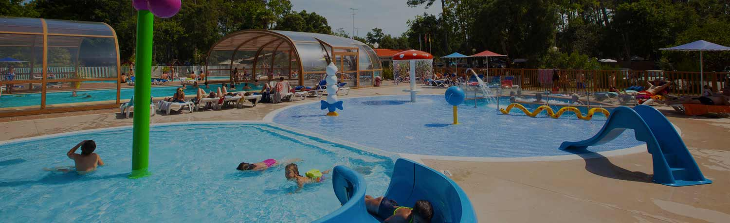 campsite swimmingpool seignosse