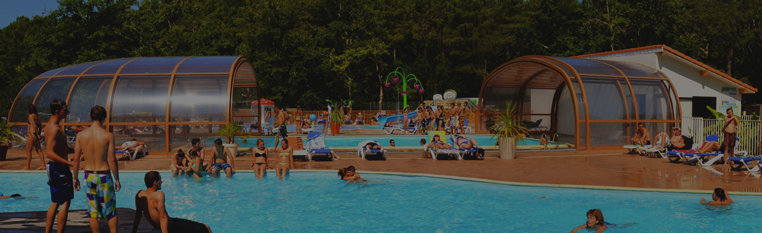 campsite landes Swimming-Pool