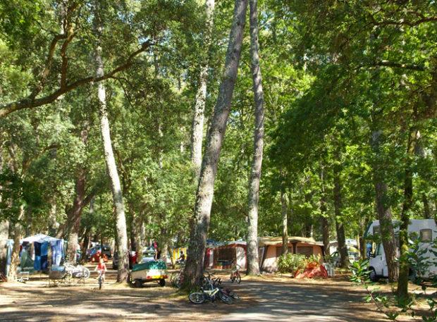 Camping caravaning Landes