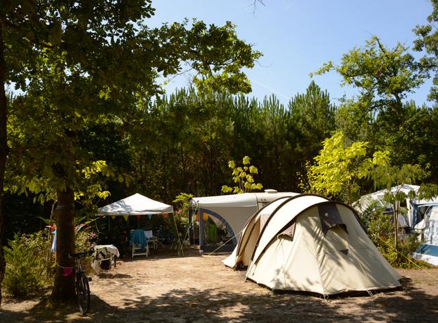 Camping tente Seignosse