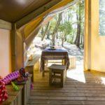 Location bungalow toilé Les Dunes dans les Landes
